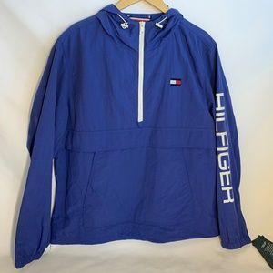 Tommy Hilfiger Taslan Retro Half-zip Pullover NWT